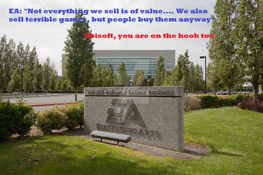 Electronic Arts should know my contempt by DragonLord0