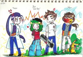 team rocket-pokemaniacos by My-Michelle