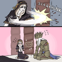 lothric whos bad with words by emlan