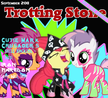 Trotting Stone by thechosenone12