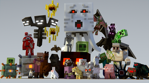 Minecraft Creatures by Hokiroya