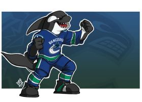 Vancouver Canucks: Fin The Orca by jmh3k
