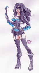 Rule 63 Nightwing by quotidia