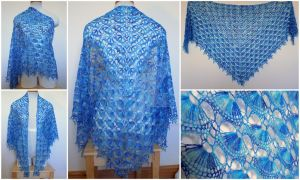 Maia Crochet Shawl by FearlessFibreArts