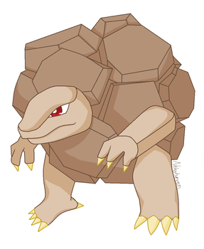 Golem - MS Paint by Foxfang0Sapphireclan