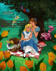 Commision: Disney  Wendy and Alice by Precia-T