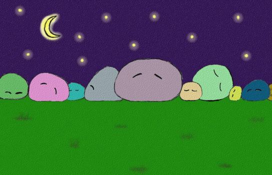 Dangos Sleeping2 by Chipkinz