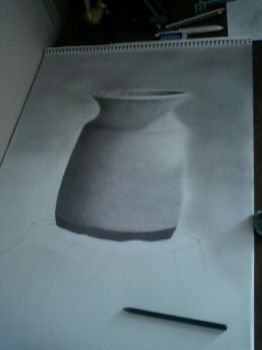 The Simple Lonely Pot (process) by HighTechPictures