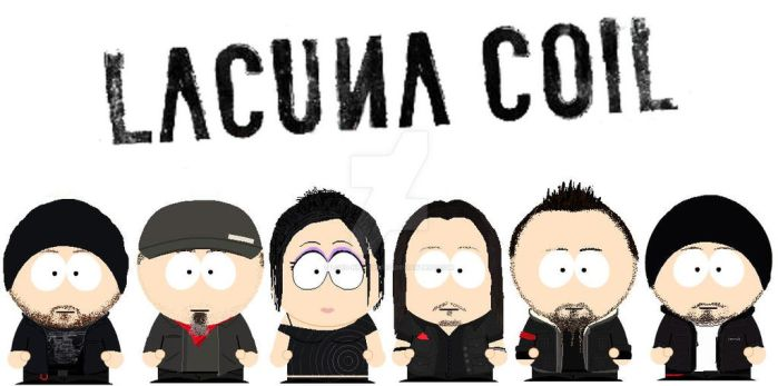 South Park Lacuna Coil by lord-nightbreed