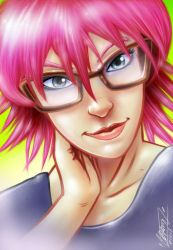 Pink Hair by phix701