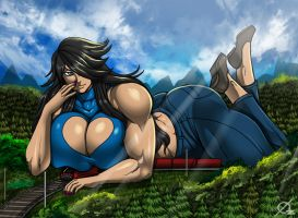 Giant Aliessa by Osmar-Shotgun