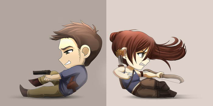 Uncharted/TombRaider by ARSugarPie