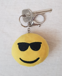 Smiley Keychain by Excadriller