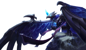 Anivia blackfrost Render by SilentLipz