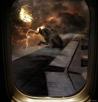 The Nightmare at 20.000 Feet by lupographics