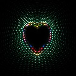 Metalic Heart 01 by shineout-fractals
