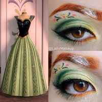Anna Frozen Makeup by Lally-Hime
