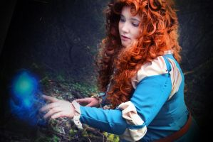 Princess Merida - Will O' the Wisps by ChorJail