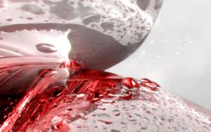 my red glass of water by mayoofka
