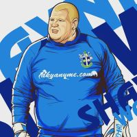 Wayne Shaw of Sutton United FC by akyanyme