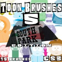 Toon Brushes 5 South Park by muutus