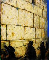 wailing wall by rodulfo