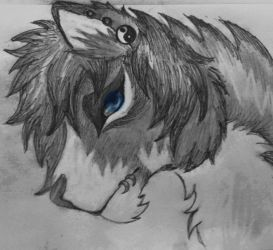Saturnus's drawing of Mykie for me by Kateslps4444
