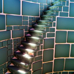 Masonry Spiral Stairs by dudecon