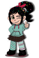 Vanellope by NY-Disney-fan1955