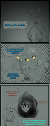 Aqua has a Point by SnoopyScribbles