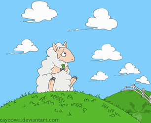 Day 4- Clover Field by caycowa