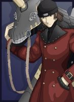 Persona 3 - Shinjiro by Fandias