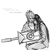 Transistor x Rivelia [ SPOILERS ] by thegadgetfishes