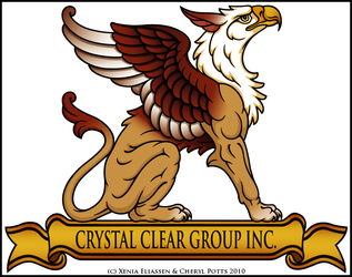CCG Gryphon Logo--Color Collab by swandog