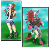 Pokemon BW Girl, zoroark TF