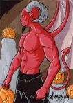 Hallowe'en Sketch Card 2 by ElainePerna