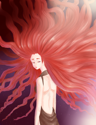 Red Haired by Toawie