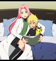It's almost bedtime, son. by yui-22