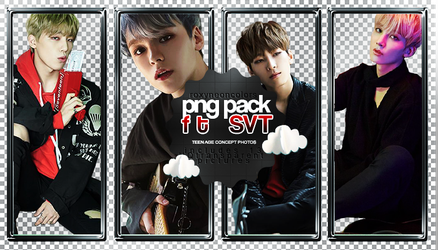 SEVENTEEN TEEN AGE Png pack by RoxyNeonColors