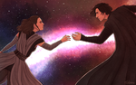 Fate links thee to me for ever and a day! by volson