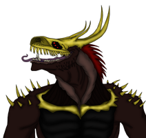 Quazulek (greed demon) by Redspets
