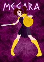 Megara - Disney Warrior Princess by jlechuga