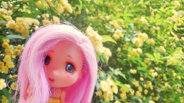 MLP Fluttershy Ddung OOAK 1\4 by PixieLify