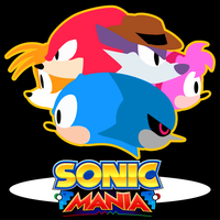 Fan art: Sonic Mania, Classic 6 by Diegichigo