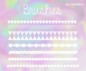 Brushes Lineas by CinndyLu