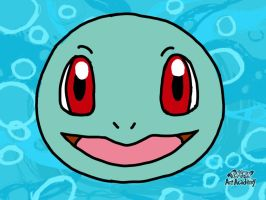 Pokemon Art Academy Novice Course 1: Squirtle by PkGam