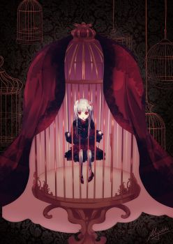 K Project - Caged Bird by Miyukiko
