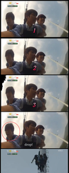 L/Myungsoo On A Bungee Jump Ride by akodieon