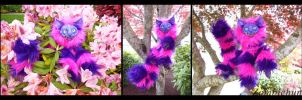 Pink Cheshire cat doll by ZombieHun