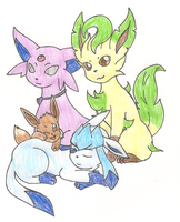 PKMNHJ - The Vincent Family by CobaltClaw19